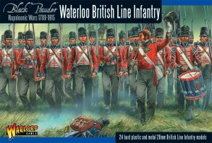 BRITISH LINE INFANTRY (WATERLOO)