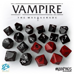 VAMPIRE: THE MASQUERADE: DICE SET
