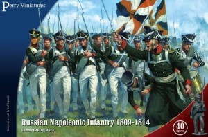 NAPOLEONIC RUSSIAN INFANTRY 1809-1814