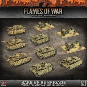 BAKE'S FIRE BRIGADE (plastic army)