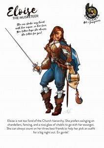 ELOISE, THE MUSKETEER