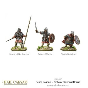 SAXON LEADERS - BATTLE OF STAMMFORD BRIDGE