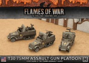 T30 75MM ASSAULT GUN PLATOON (3X)
