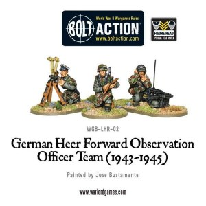 German Heer Forward Observation Team (FOO)