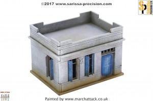 20MM NORTH AFRICAN COLONIAL SMALL HOUSE