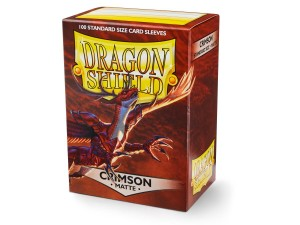 DRAGON SHIELD CRIMSON MATTE (100SZT.)