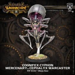 MERCENARY CEPHALYX WARCASTER COGNIFEX CYPHON  INC RESIN
