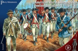 CONTINENTAL INFANTRY 1776-1783