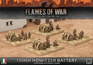100MM HOWITZER BATTERY (PLASTIC)