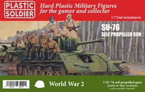 1/72nd Russian SU76 self propelled gun