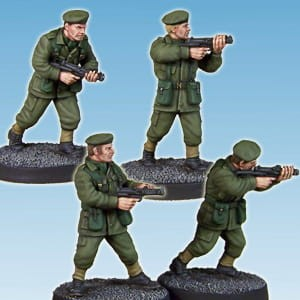 ARMY PRIVATES – SMGS (4)