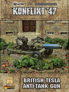 BRITISH TESLA ANTI-TANK GUN