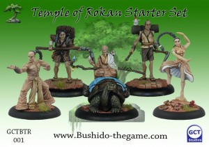 THE TEMPLE OF RO-KAN STARTER SET