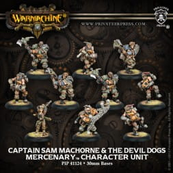 MERCENARY CAPT. SAM MACHORNE & DEVIL DOGS (10)  REPACK