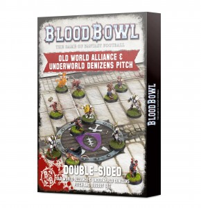 BLOOD BOWL: OLD WORLD + UNDERWORLD PITCH [OOP]
