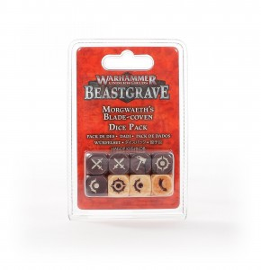 WHU: MORGWAETH'S BLADE-COVEN DICE SET