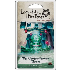 The Chrysanthemum Throne Expansion Pack: L5R LCG