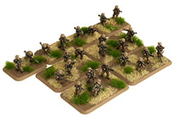 EAST-GERMAN MOT SCHUTZEN PLATOON (24 FIGURES)