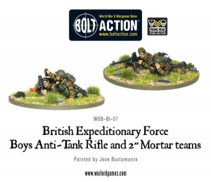 "Early War Anti-Tank Rifle Team & 2"" Light Mortar Teams"