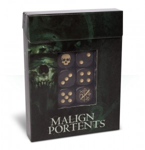 AGE OF SIGMAR: MALIGN PORTENTS DICE SET