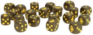 FIGHTING FIRST DICE (20 DICE)