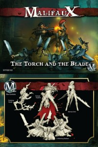 SONNIA CREW BOX SET  -THE TORCH AND THE BLADE