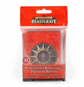 WHU: MORGWAETH'S BLADE-COVEN PREMIUM SLEEVES