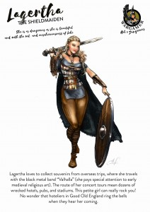 LAGERTHA, THE SHIELDMAIDEN
