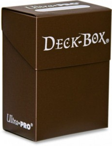 DECK BOX - BROWN