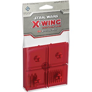 SW X-WING: RED BASES AND PEGS