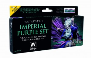 ZESTAW FANTASY PRO NOCTURNA 8 FARB - IMPERIAL PURPLE
