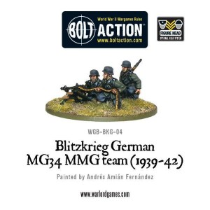 Blitzkreig German MG34 MMG team
