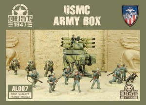 BOX ARMIJNY MARINES