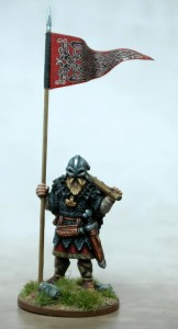 Viking Warbanner & Bearer