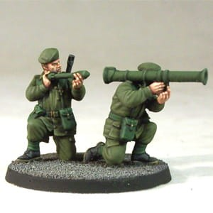 ARMY SUPPORT WEAPON TEAM: BAZOOKA