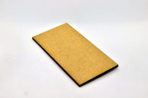 HDF BASES 50x100mm RECTANGLE (1 piece)