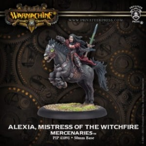 MERCENARY ALEXIA MISTRESS OF WITCHFIRE
