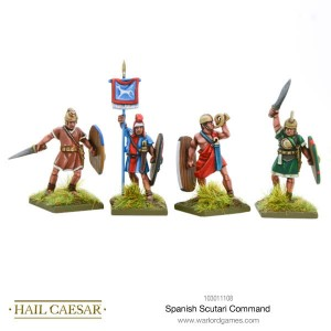 SPANISH SCUTARII COMMAND (4)
