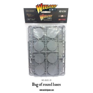 BAG OF ROUND BASES MIXED (45)