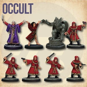 STARTER CAST: OCCULT (8)