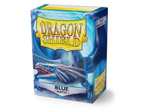 DRAGON SHIELD BLUE MATTE (100SZT)