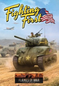 FIGHTING FIRST (MID WAR US HARDBACK BOOK)