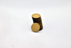 HDF BASES 20mm ROUND (10 pieces)
