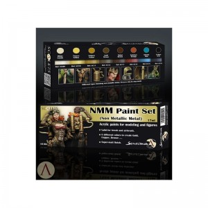 SCALE 75 PAINT SET - (NON METALLIC METAL) GOLD