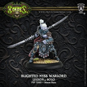 LEGION BLIGHTED NYSS WARLORD