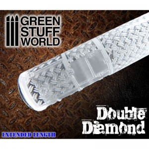 DOUBLE DIAMOND ROLLING PIN