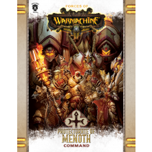 FORCES OF WARMACHINE: PROTECTORATE OF MENOTH COMMAND BOOK (SOFT COVER)