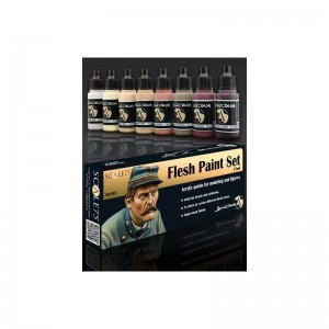 SCALE 75 PAINT SET - FLESH