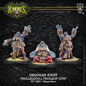 TROLLBLOOD DHUNIAN KNOT (3)   INC RESIN