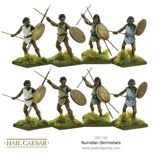 NUMIDIAN SKIRMISHERS [MADE TO ORDER]